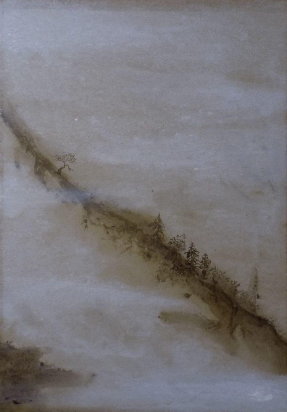 Obrazy - Horský hřeben 2