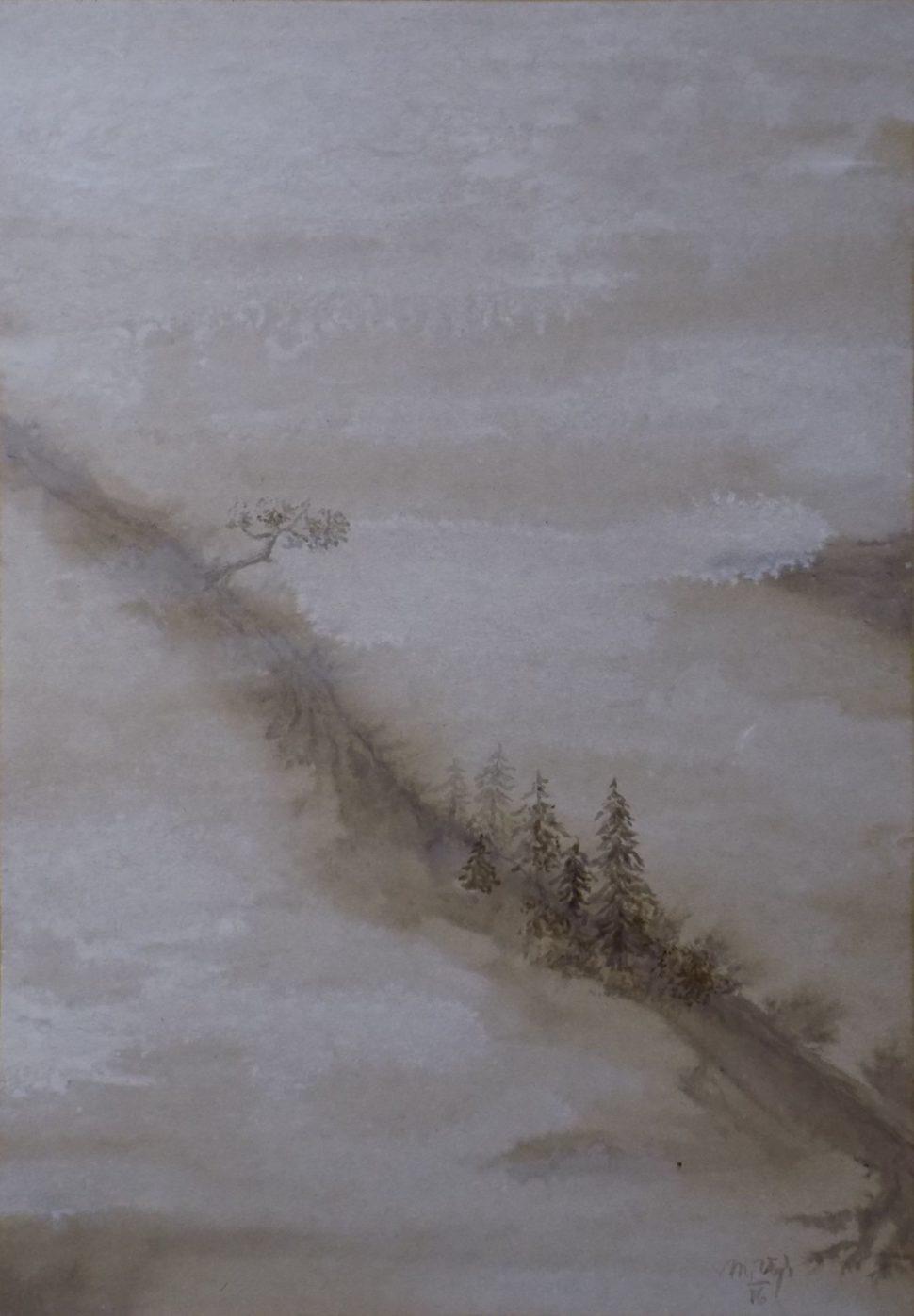 Obrazy - Horský hřeben